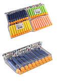 Пули мягкие 20 штук в упаковке (4 цвета) , XL-149, оптом