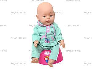 Игрушечный пупс Baby born, с аксессуарами, 058AR, игрушки