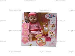 Пупс Baby Doll для девочек, 863578-11, купить