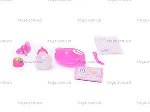 Пупс Baby Doll, с аксессуарами, 80058K, игрушки