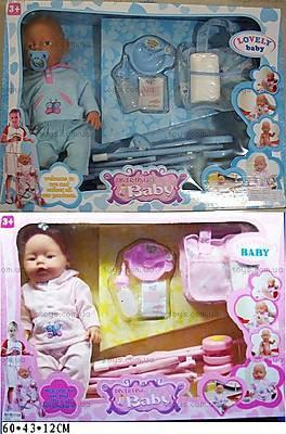 Пупс Baby Doll, с коляской, RT07-02C, купить