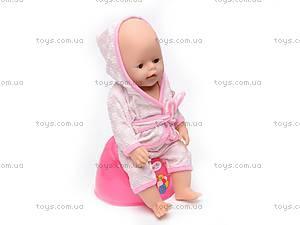 Пупс Baby Doll, с соской, 863578-18, купить