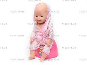 Пупс Baby Doll, с соской, 863578-18, отзывы