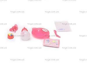 Пупс Baby Doll, с соской, 863578-18, игрушки