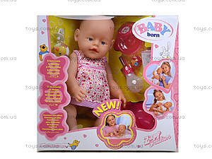 Пупс-девочка в коробке, 800058-5, детские игрушки