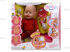 Пупс Baby Born в коробке с аксессуарами, 800058-K, отзывы