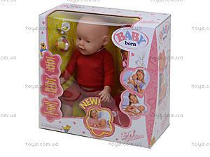 Пупс Baby Born в коробке с аксессуарами, 800058-K, детские игрушки