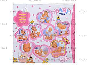 Игрушечный пупс Baby Born для деток, 800058-16, игрушки