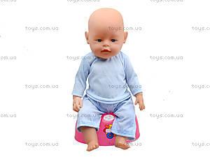 Игрушечный пупс «Беби» с асексуарами для игры, 800058-A, детские игрушки