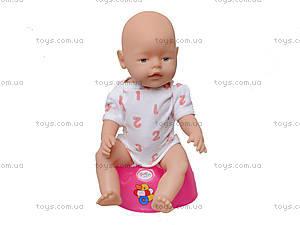 Пупс для детей «Маленькая лялечка», 058R, отзывы