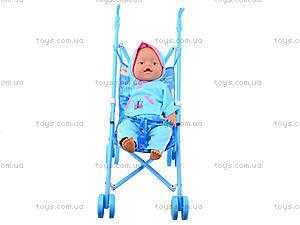 Пупс Baby Doll, с коляской, RT07-02C, фото