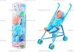 Пупс Baby Doll, с коляской, RT07-02C