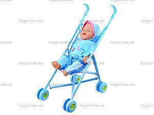 Пупс Baby Doll, с коляской, RT07-02C, детские игрушки