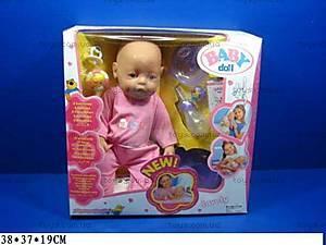 Пупс Baby Doll, в пижаме, 058-1