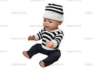 Маленький интерактивный пупс Baby Love, BL013C, фото
