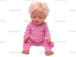 Пупс детский интерактивный «Лялечка», 30667-12