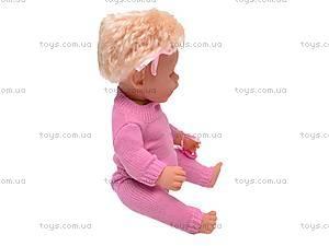 Пупс детский интерактивный «Лялечка», 30667-12, фото