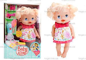 Пупс-девочка с аксессуарами «Baby Alive», 35752-6