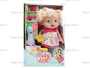 Пупс-девочка с аксессуарами «Baby Alive», 35752-6, игрушки