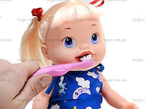 Пупс-девочка с аксессуарами Baby Alive, 806E, фото