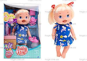 Пупс-девочка с аксессуарами Baby Alive, 806E