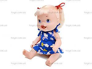 Пупс-девочка с аксессуарами Baby Alive, 806E, детские игрушки