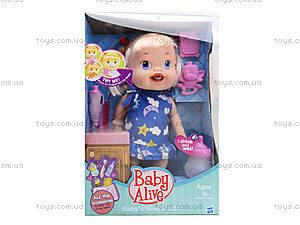 Пупс-девочка с аксессуарами Baby Alive, 806E, toys.com.ua