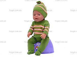 Пупс функциональный Baby Doll, 058H, фото