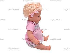 Пупс интерактивный детский «Лялечка», 30667-4, цена