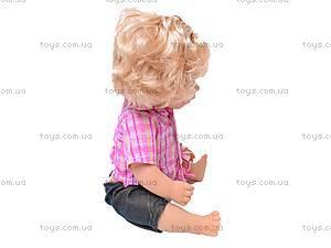 Пупс интерактивный «Валюша», 8863-10, детские игрушки