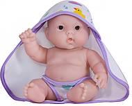 Пупс Лулу з фиолетовым полотенцем, JC16822-1, купить