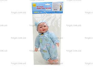 Музыкальный пупсик (мальчик, девочка), 0910C-4, игрушки