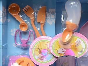Пупс «Очаровашки» с посудой, 5336, магазин игрушек