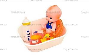Пупс-пищалка в ванной, 130М