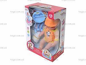 Детский пупс с аксессуарами Babies, L8692F, фото