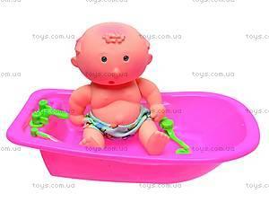 Пупс в ванне, 9085-20B