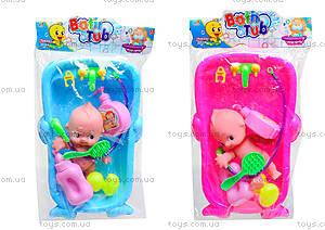 Детская игрушка «Пупс в ванной», 669-228A