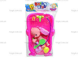 Детская игрушка «Пупс в ванной», 669-228A, игрушки