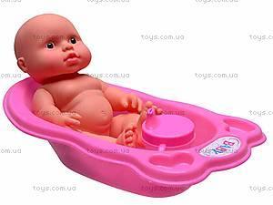 Пупсик игрушечный в ванной, 819AB