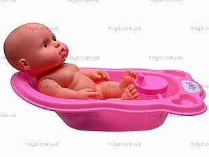 Пупсик игрушечный в ванной, 819AB, фото