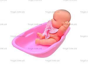 Пупсик в ванночке с аксессуарами, 0905-07, фото