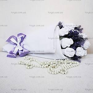 Букет из носочков Purple lavender, BT04, купить