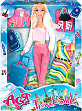 Кукла блондинка с косичками «Путешествие», 35076