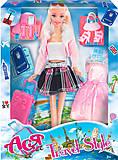 Кукла в розовой кофте серии «Путешествие», 35088, фото