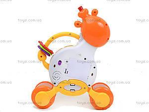 Пианино для детей «Жираф», BB369, детские игрушки