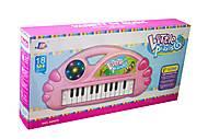 Пианино «Little pianist» розовое, J66-02A, отзывы
