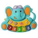 Пианино MOMMY LOVE «Слоненок» синий , 855-28A-2, фото