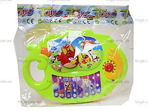 Музыкальное пианино «Птички», 318-9C, фото