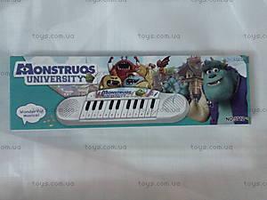 Пианино музыкальное «Школа монстров», 3712