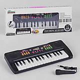 Пианино с микрофоном, 32 клавиша, 6 мелодий, YYX003, фото
